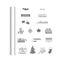 Project Life Holiday Cheer Photopolymer Stamp Set