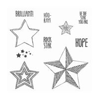 Be The Star Clear-Mount Stamp Set