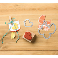 Something For Baby Wood-Mount Bundle