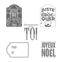 Merry Everything (French) Clear-Mount Stamp Set