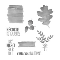 For All Things (French) Clear-Mount Stamp Set
