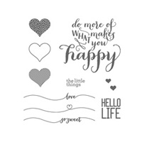 Hello Life Photopolymer Stamp Set