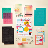 Let's Get Away Project Life Accessory Pack