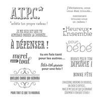 A.T.P.C. Photopolymer Stamp Set (French)