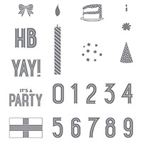 Birthday Yay Photopolymer Stamp Set