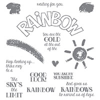 Over The Rainbow Photopolymer Stamp Set