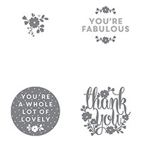 A Whole Lot Of Lovely Clear-Mount Stamp Set
