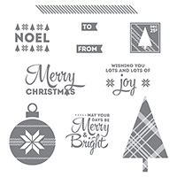 Lots Of Joy Clear-Mount Stamp Set