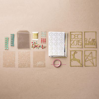 Hello December 2015 Project Life Accessory Pack