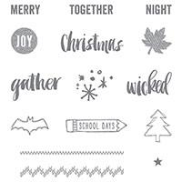 Project Life Seasonal Snapshot 2015 Photopolymer Stamp Set