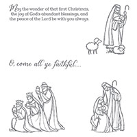 All Ye Faithful Clear-Mount Stamp Set