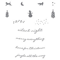 Jingle All The Way Clear-Mount Stamp Set