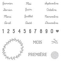 Project Life Bonjour Bébé Photopolymer Stamp Set (French)