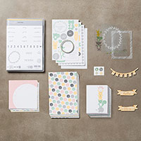 Hello Baby Girl Project Life Bundle