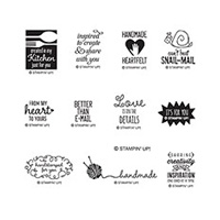 Better Than E-Mail Photopolymer Stamp Set