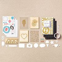 Memories In The Making Project Life Embellishment Kit