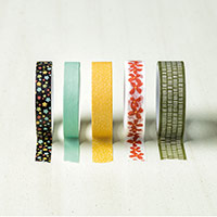 Botanical Gardens Designer Washi Tape