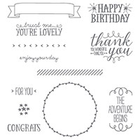 You're So Lovely Photopolymer Stamp Set