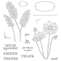 Helping Me Grow Photopolymer Stamp Set