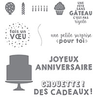 Fête Du Tonnerre Clear-Mount Stamp Set (French)