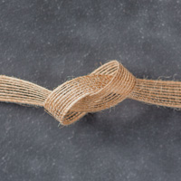 "5/8"" (1.6 Cm) Burlap Ribbon"