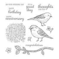 Best Birds Photopolymer Stamp Set