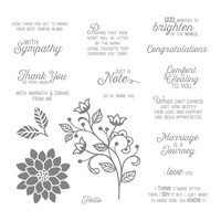 Flourishing Phrases Clear-Mount Stamp Set