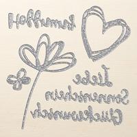 Grüße Voller Sonnenschein Thinlits Dies (German)