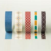 Moroccan Designer Washi Tape