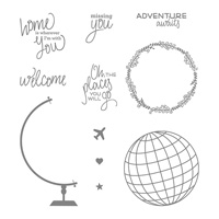 Places You'll Go Photopolymer Stamp Set