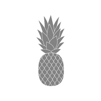 Pineapple Wood-Mount Stamp