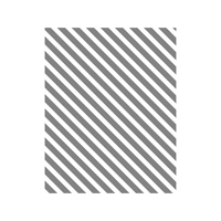 Diagonal Stripe Clear-Mount Stamp
