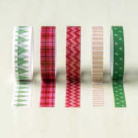 Warmth & Cheer Designer Washi Tape