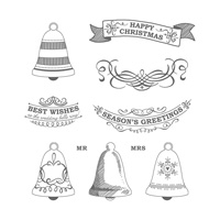 Seasonal Bells Clear-Mount Stamp Set