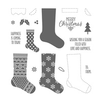 Hang Your Stocking Photopolymer Stamp Set