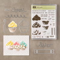 Sweet Cupcake Photopolymer Bundle