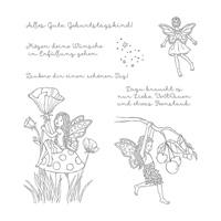Einfach Zauberhaft Clear-Mount Stamp Set (German)