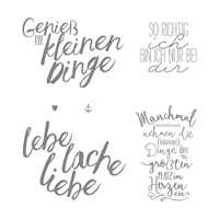 Im Herzen Clear-Mount Stamp Set (German)