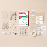 Hello December 2016 Project Life Accessory Pack (French)