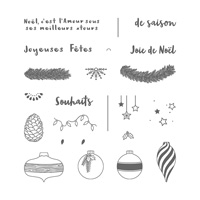 Affaire De Coniféres Photopolymer Stamp Set (French)