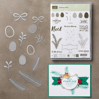Christmas Pines Photopolymer Bundle